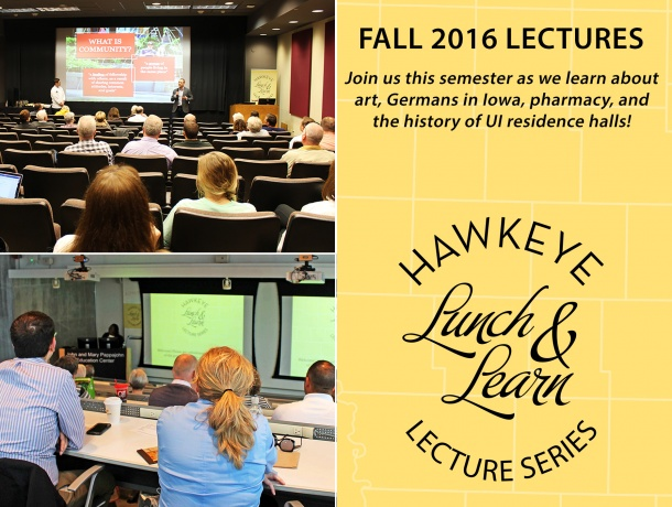 Hawkeye Lunch & Learn Lecture Series