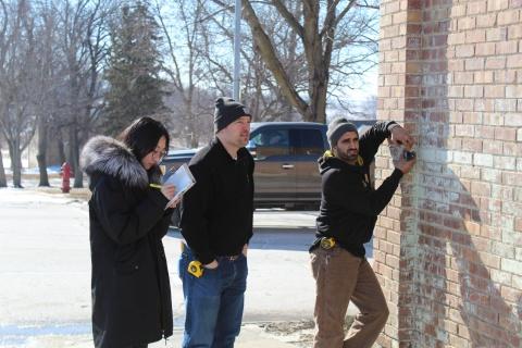 Manning, Iowa's Schmidt building project