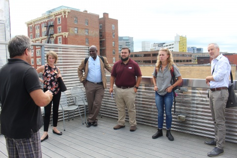 URP Students discuss Iowa City downtown preservation