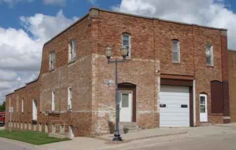 The Schmidt Building in Manning