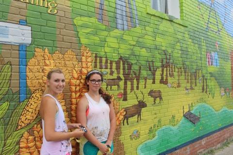 Corydon, Iowa mural