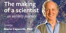 Public talk: The making of a scientist - an unlikely journey