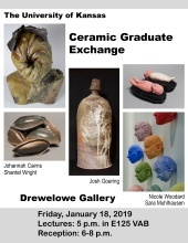 The University of Kansas Ceramic Graduate Exchange