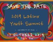 2019 Latinx Youth Summit promotional image