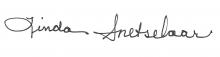 Linda Snetselaar Signature