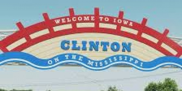 Clinton Welcome Sign