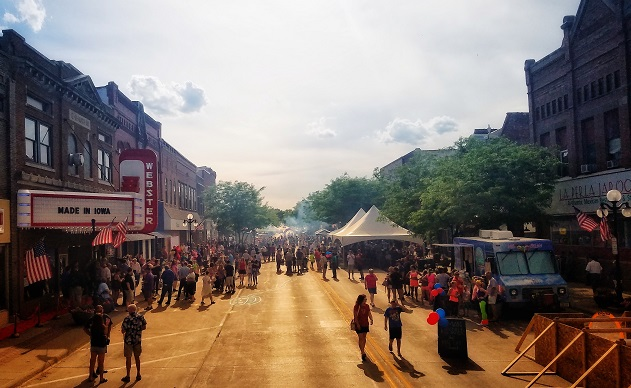 Webster City Made In Iowa Block Party